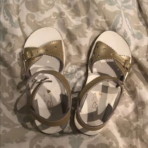 Sun San sweet gold size 13 sandals